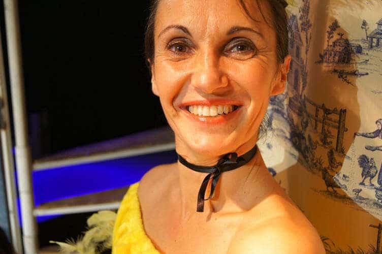 Anne Roussel, compagnie théâtrale Farce Bleue
